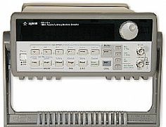 HP/AGILENT 33120A/1 FUNCTION/ABRITRARY WAVEFORM GEN., 15 MHZ, WITH PHASE LOCK